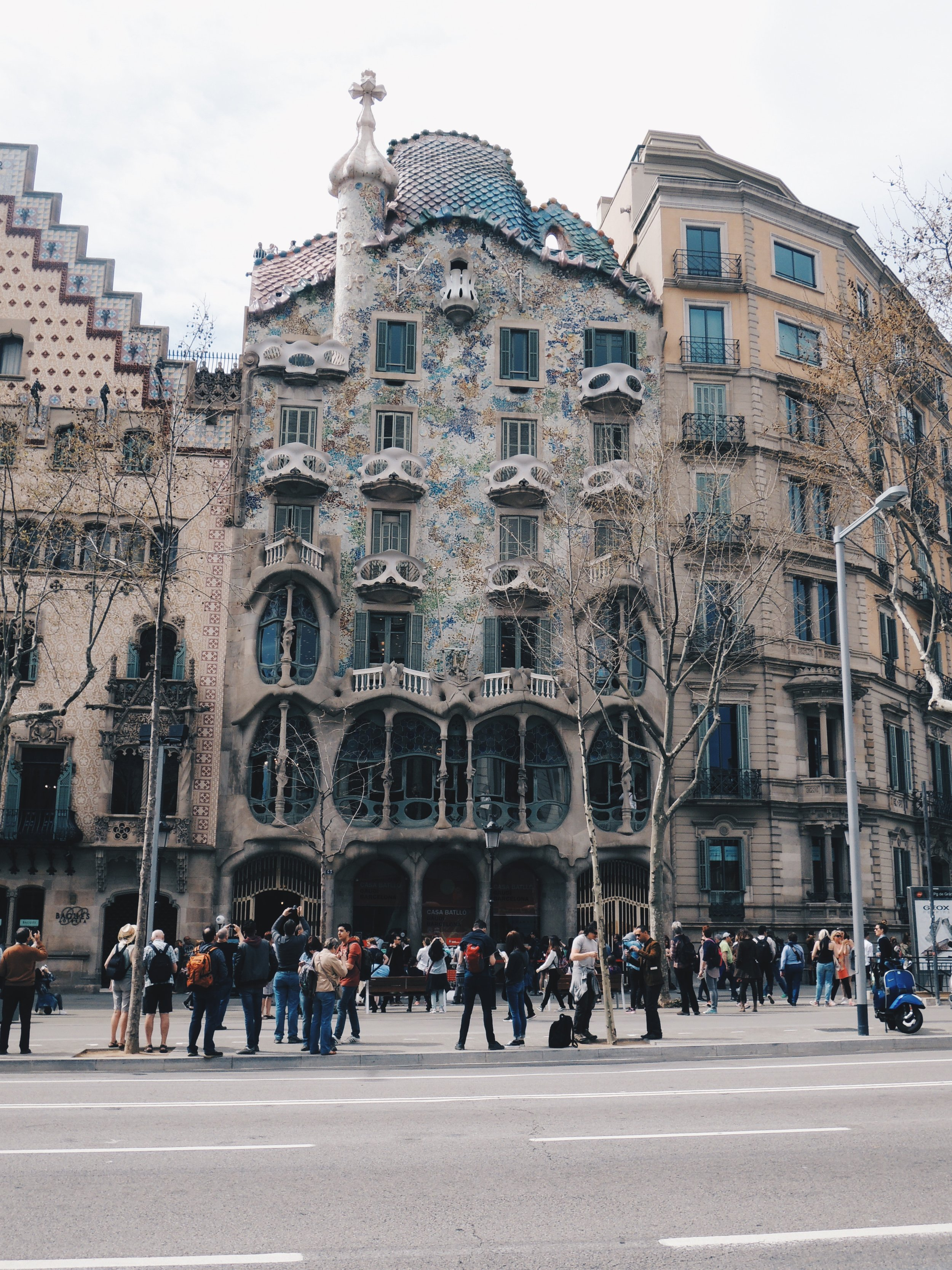 Another of Gaudí's works — Casa Batllo