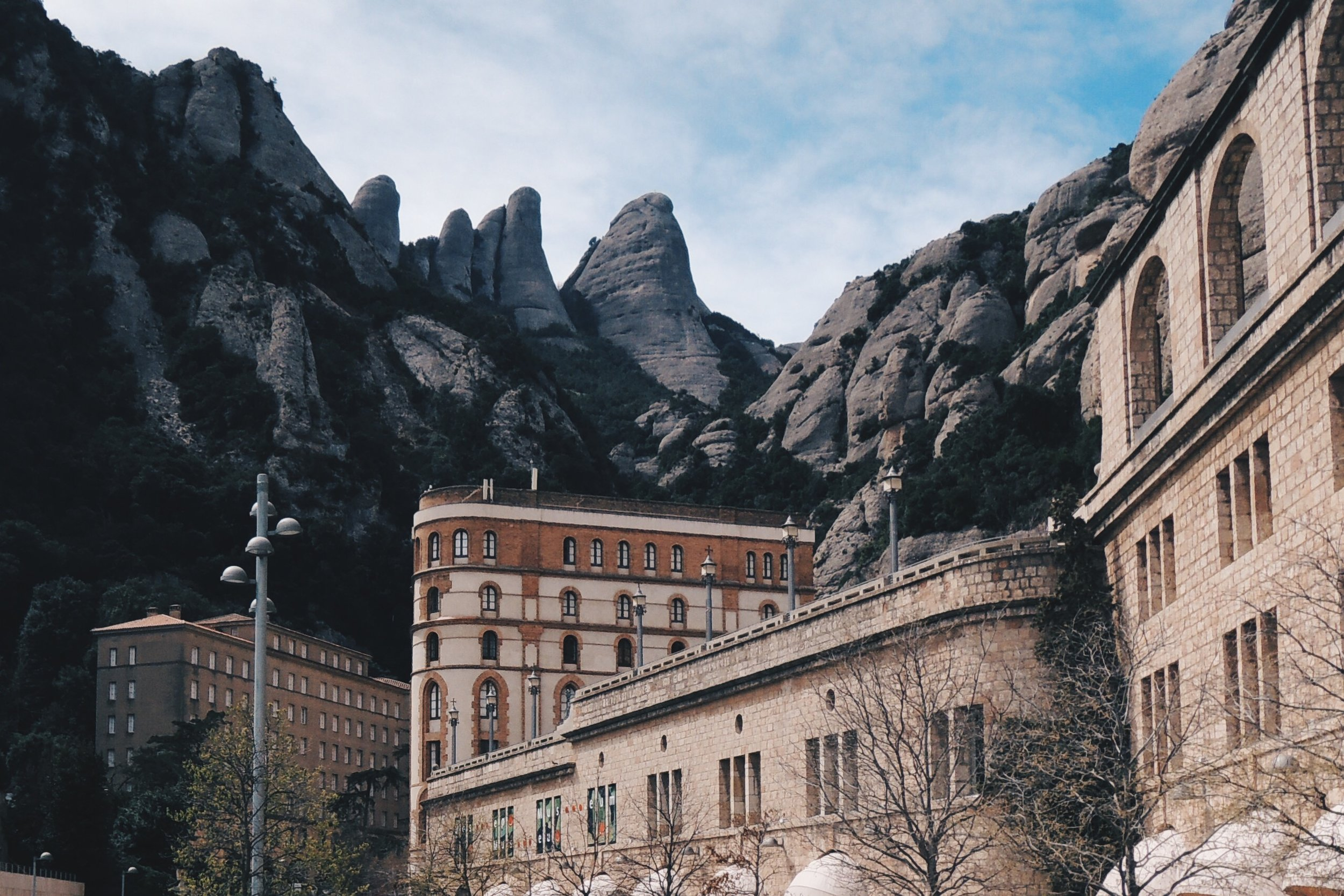 One of the more popular day trips out of Barcelona to Montserrat
