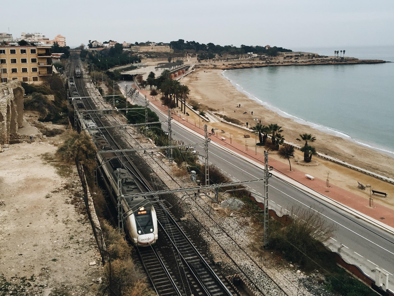 Regional trains in Spain