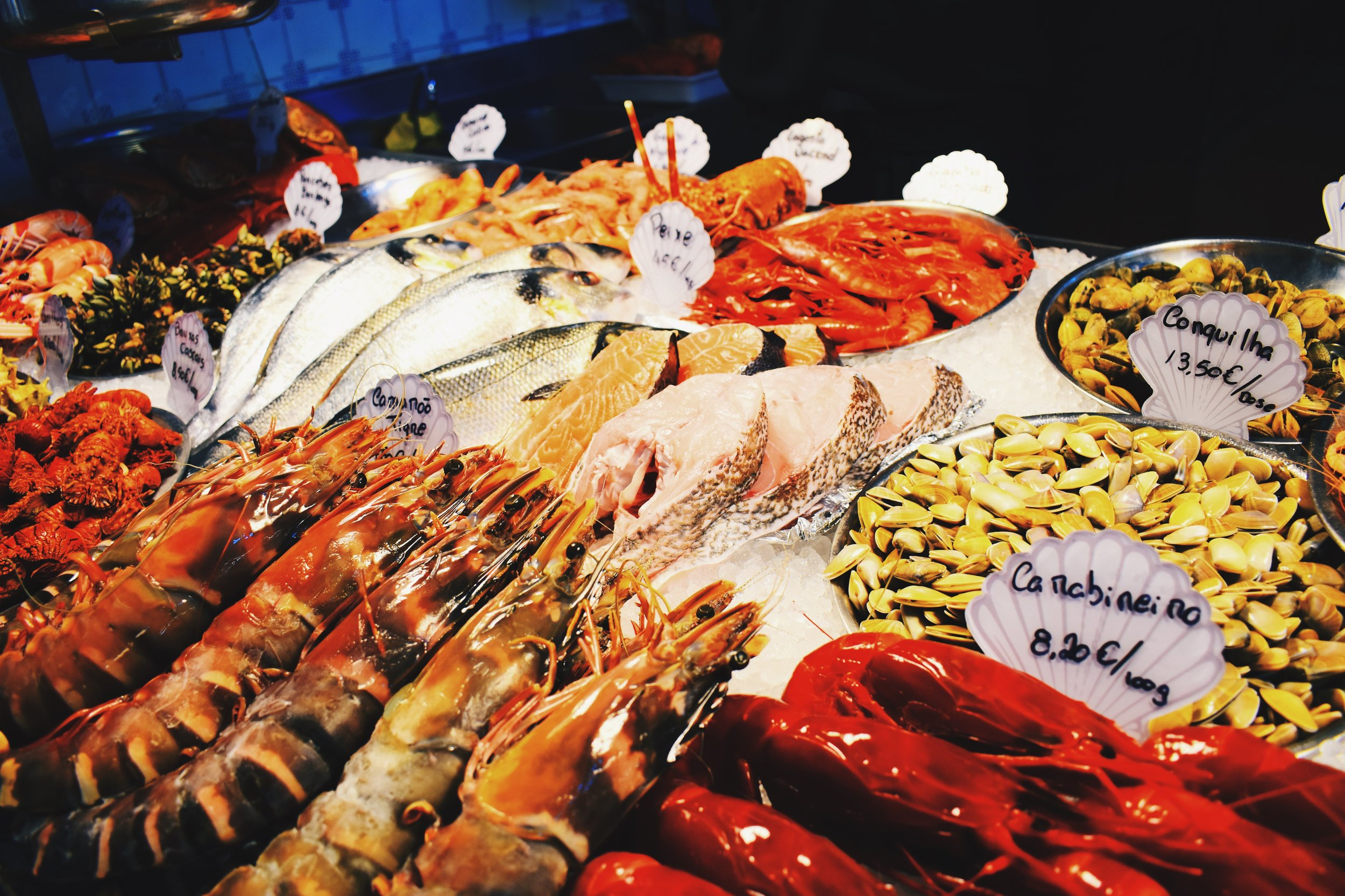 Pick and mix the freshest catches of the day