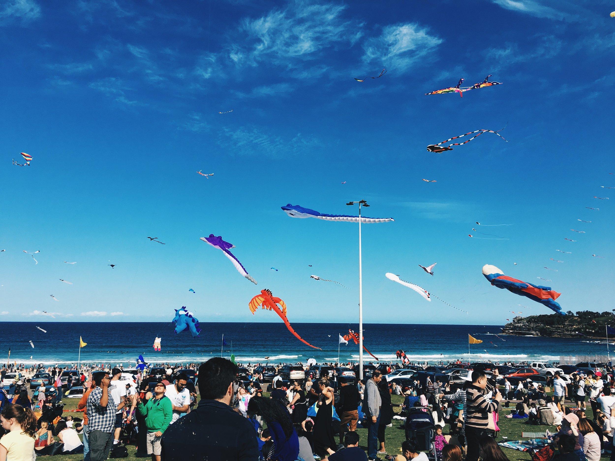 Festival of the Winds at Bondi Beach