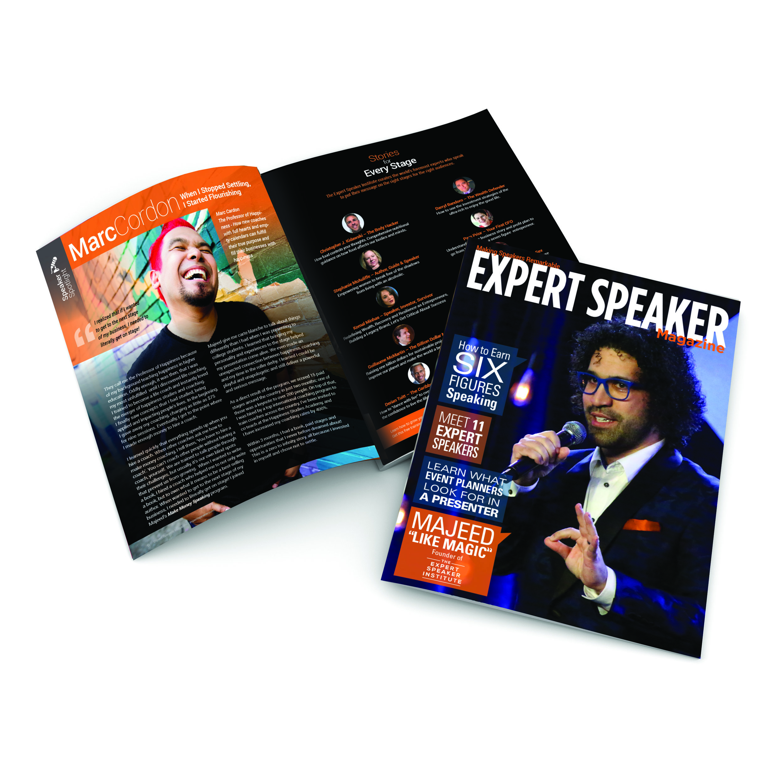 Click to view EXPERT SPEAKER MAGAZINE
