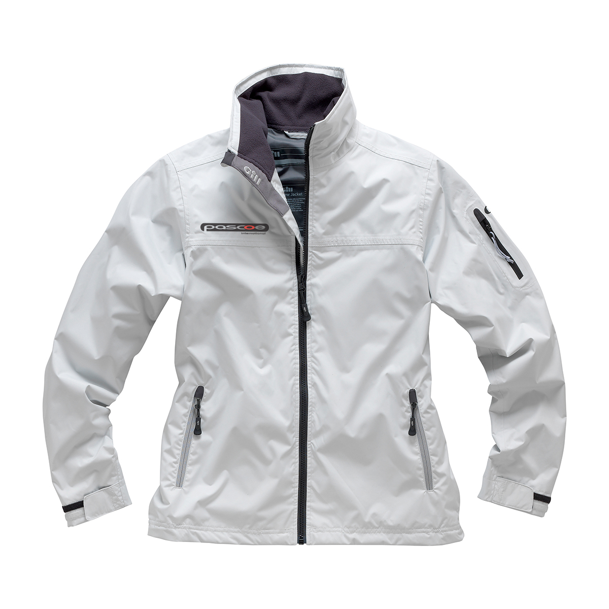 Gill Women's Crew Jacket - This waterproof, breathable Crew Jacket is perfectly constructed with all the technical trimmings, while maintaining its casual, everyday appeal. Every design element aids comfort and convenience, from the warm anti-pill fleece lining, multiple zipped pockets including an internal one at the chest, to the drawcords that adjust the fit at the hem and cuffs.£119.00
