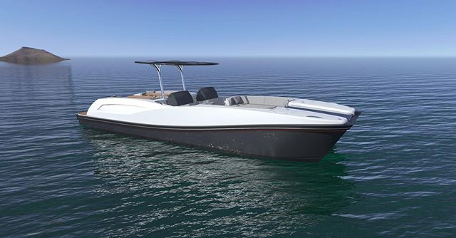 The new 10.00m Catamaran has been designed with maximising capacity and efficiency in mind. Suitable for operational duties such as transportation of provisions and storing of water sports equipment without compromising as a sufficient guest tender. #pascoe #tender #catamaran #watersports #guest #yachting #superyacht