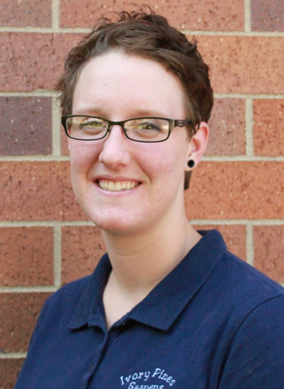 Amanda Long - Amanda Long is an animal science master's student at North Dakota State University under Dr. Christopher Schauer and Dr. Travis Hoffman. Her research is a dual-project focusing on the effect of flaxseed supplementation on both conception in ewes and semen quality in rams at the Hettinger Research Extension Center in Hettinger, ND. Amanda is from Brodhead, WI and runs a small herd of registered Saanen dairy goats in Hettinger.