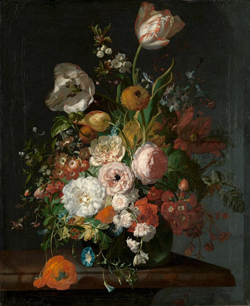 Flower still life, Rachel Ruysch