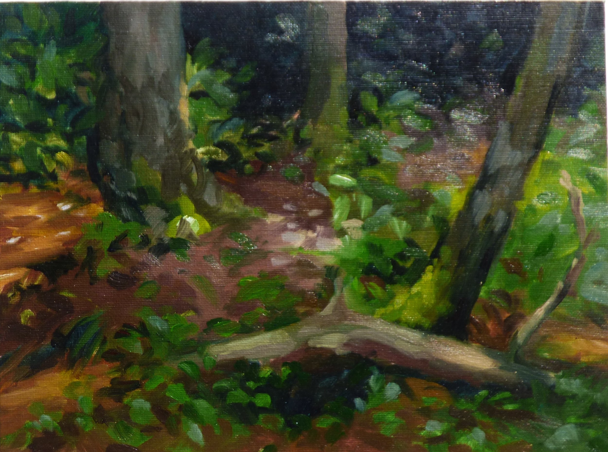 The Finding Place (plein air)