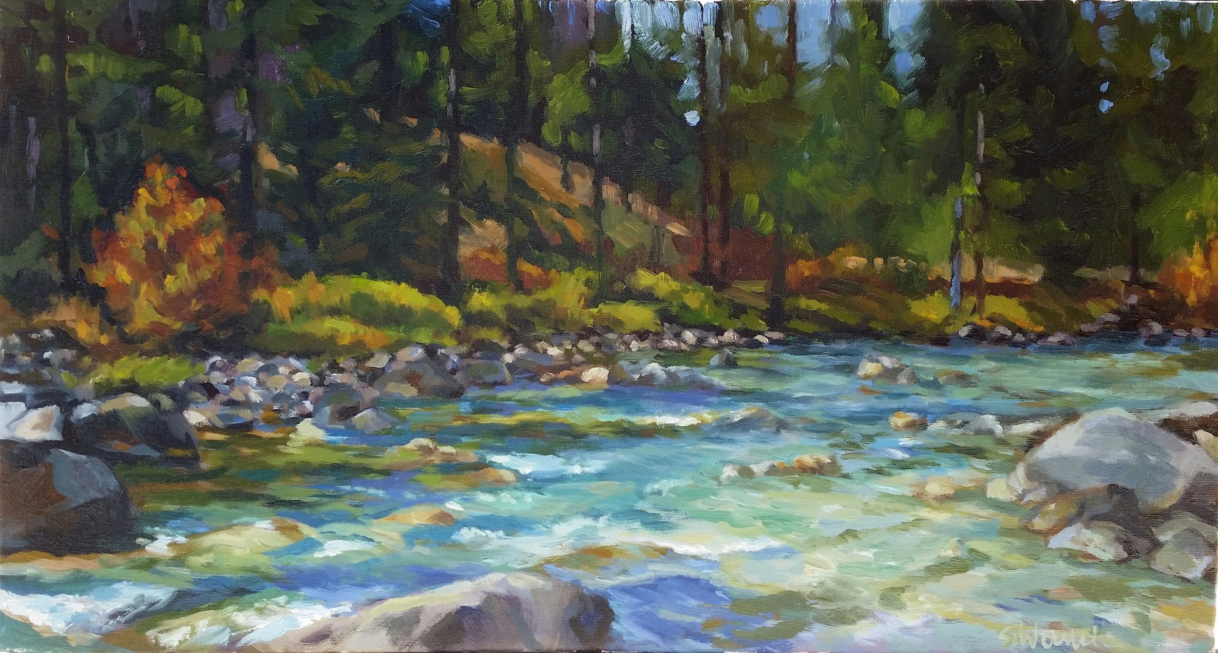 South Fork Payette River at Granjean