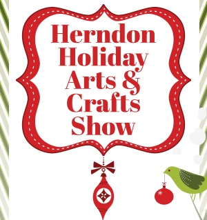 Herdon Holiday Arts and Crafts Show - Sunday December 2ndOver 80 artisans and craftspeople will exhibit and sell their work at this annual arts and crafts show sponsored by the Town of Herndon Department of Parks and Recreation. A variety of handcrafted items and fine art will be on sale including wreaths, jewelry, Christmas ornaments, decorations, original artwork, photography, stained glass, and more. Join me and other DMV makers for this rad event!