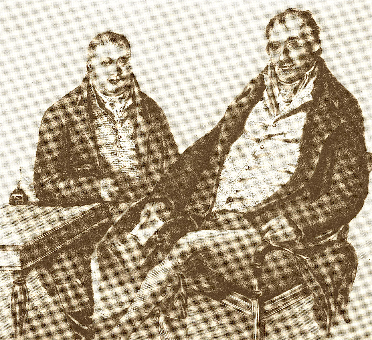 Charles and Robert Colling