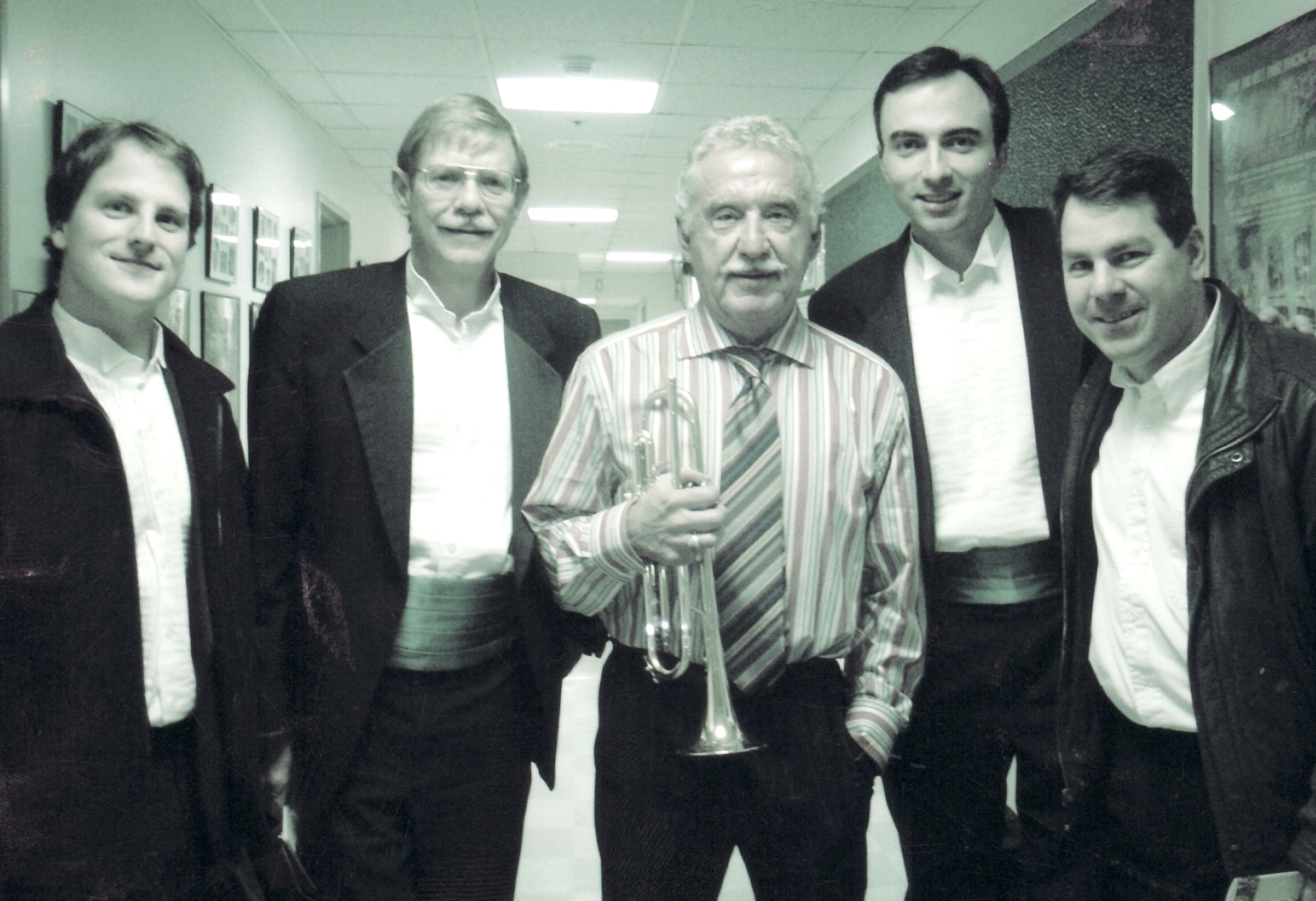 Doc Severinsen with Charlotte Symphony Trumpet Section