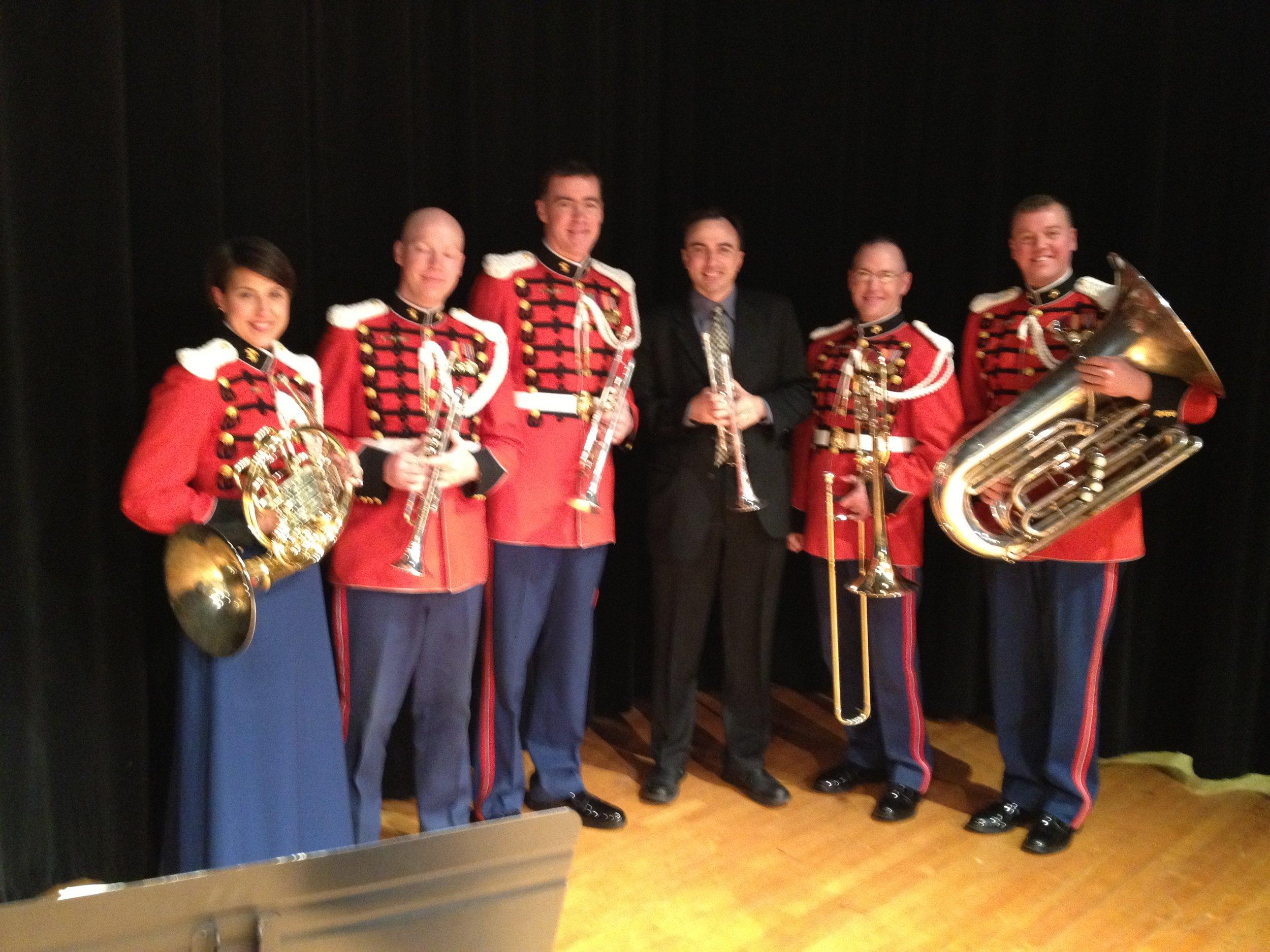 President's Own Marine Band Brass Quintet