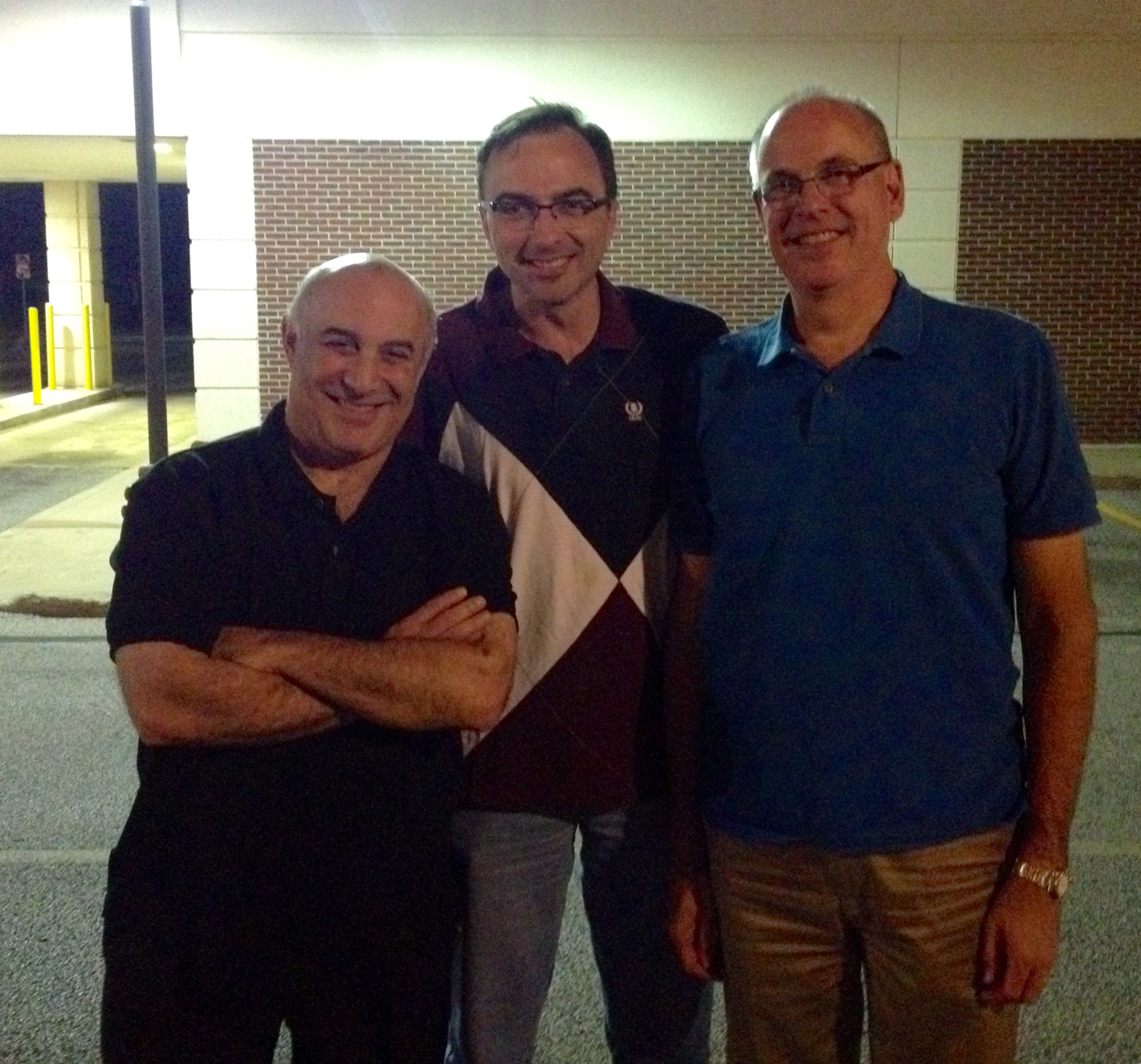 Teachers Michael Sachs (Cleveland Orchestra)and John Rommel (Indiana University)