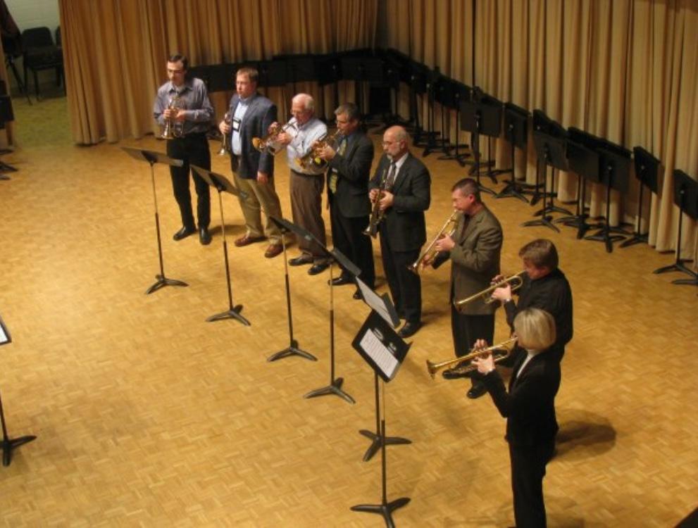 Trumpet Festival of the Southeast Professors Trumpet Ensemble