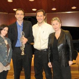 At the Juilliard School with Anna Dokshizer, Kevin Cobb and Irina Dokshizer