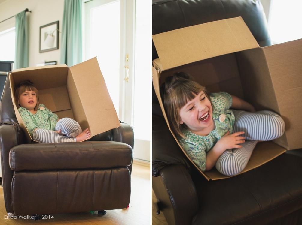 Diffused light and boxes - Erica Faith Photography