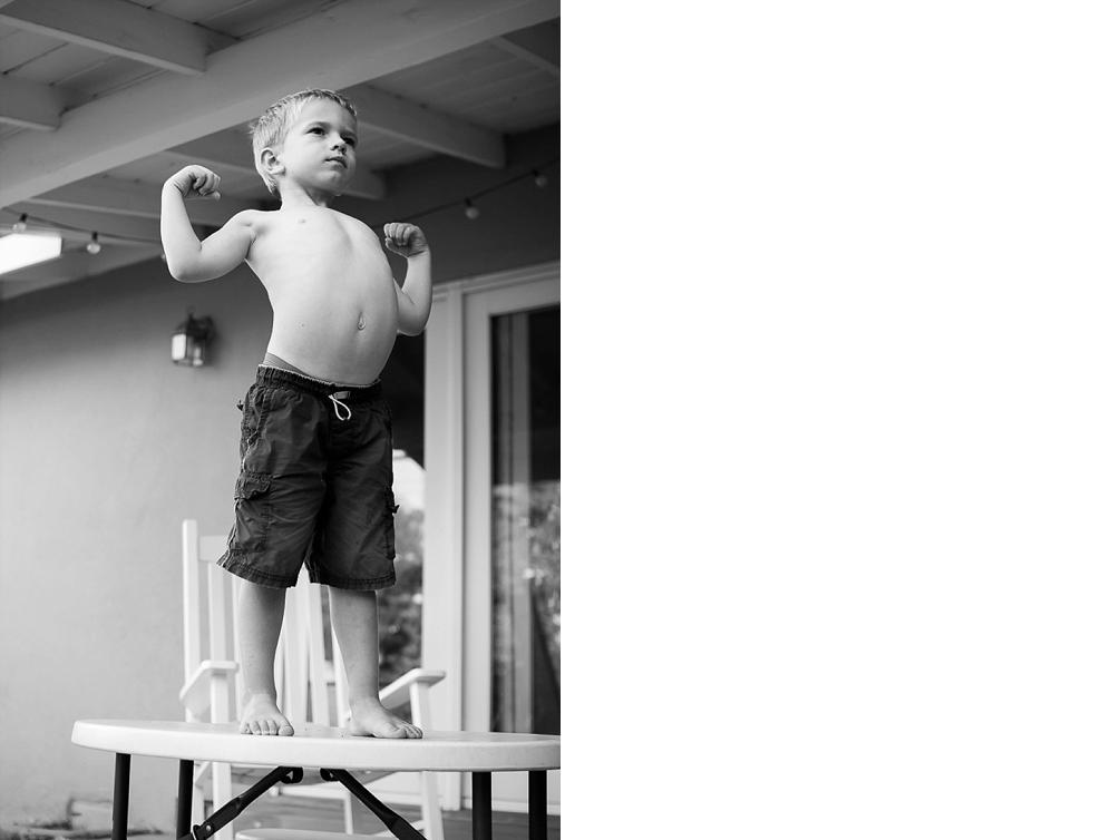 Portrait of a growing boy