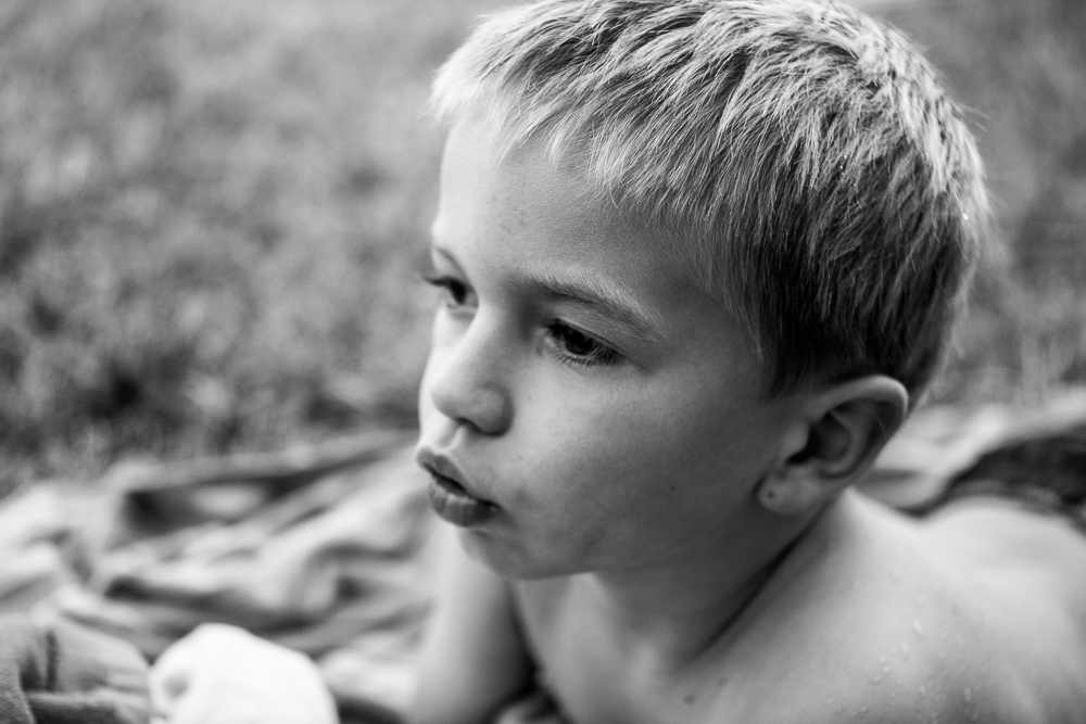 Portrait of a growing boy - Erica Faith Photography