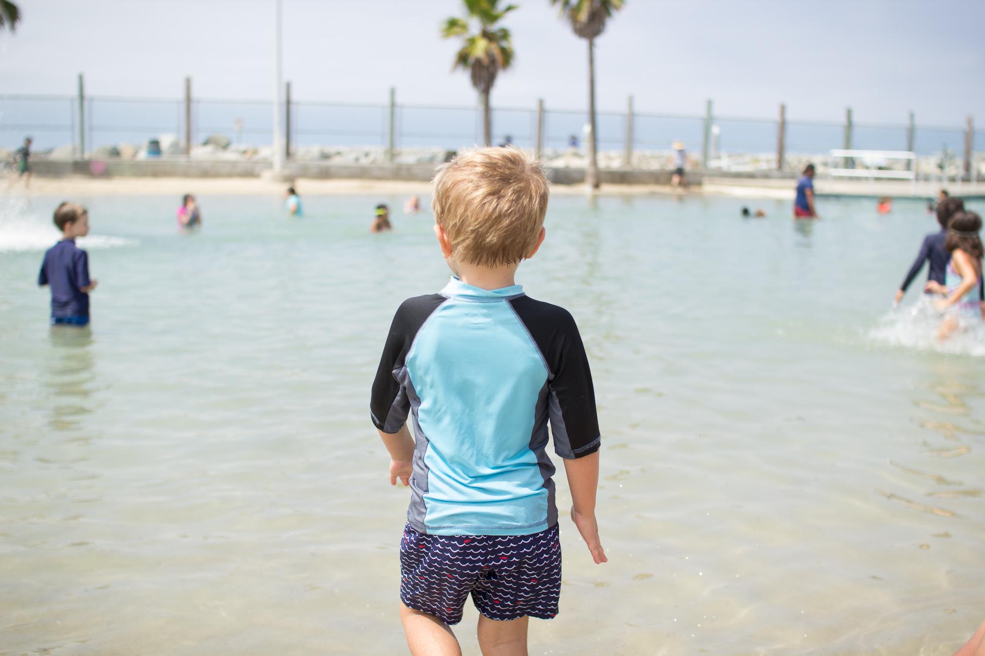Erica Faith Photography Seaside Lagoon in Redondo Beach California