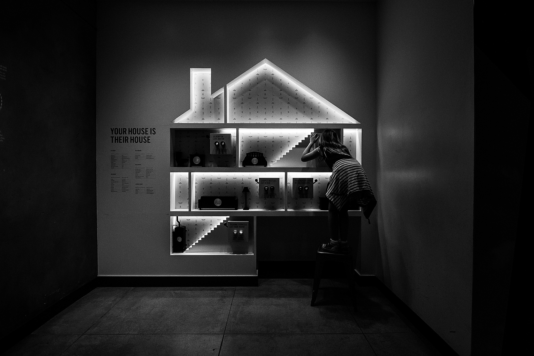 Documentary Photography at the LA County Museum of Natural History