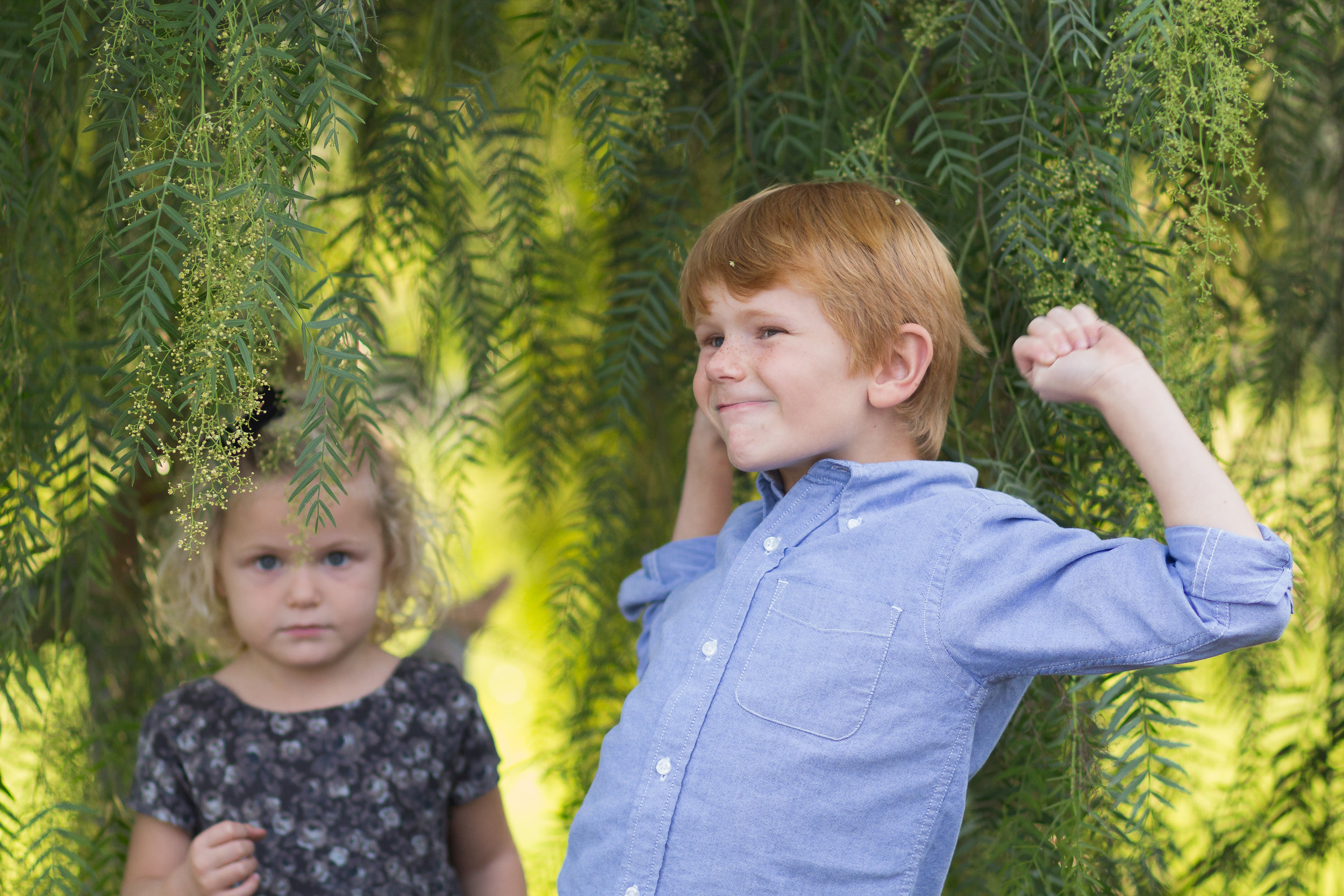 An Adorable Outdoor Family Photo Session