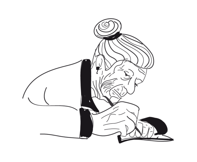Old Woman Writing.png