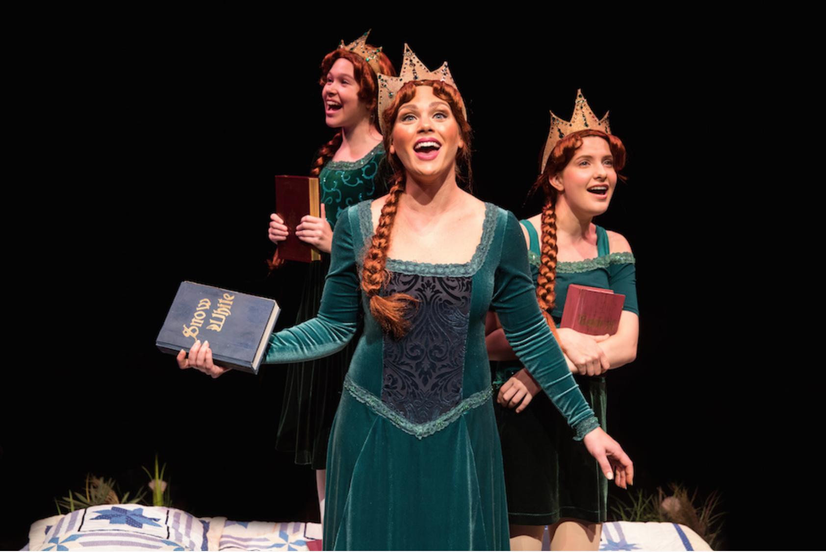 Shrek   Teen Fiona, Peter Pan   Marriott Theatre   d. Scott Weinstein