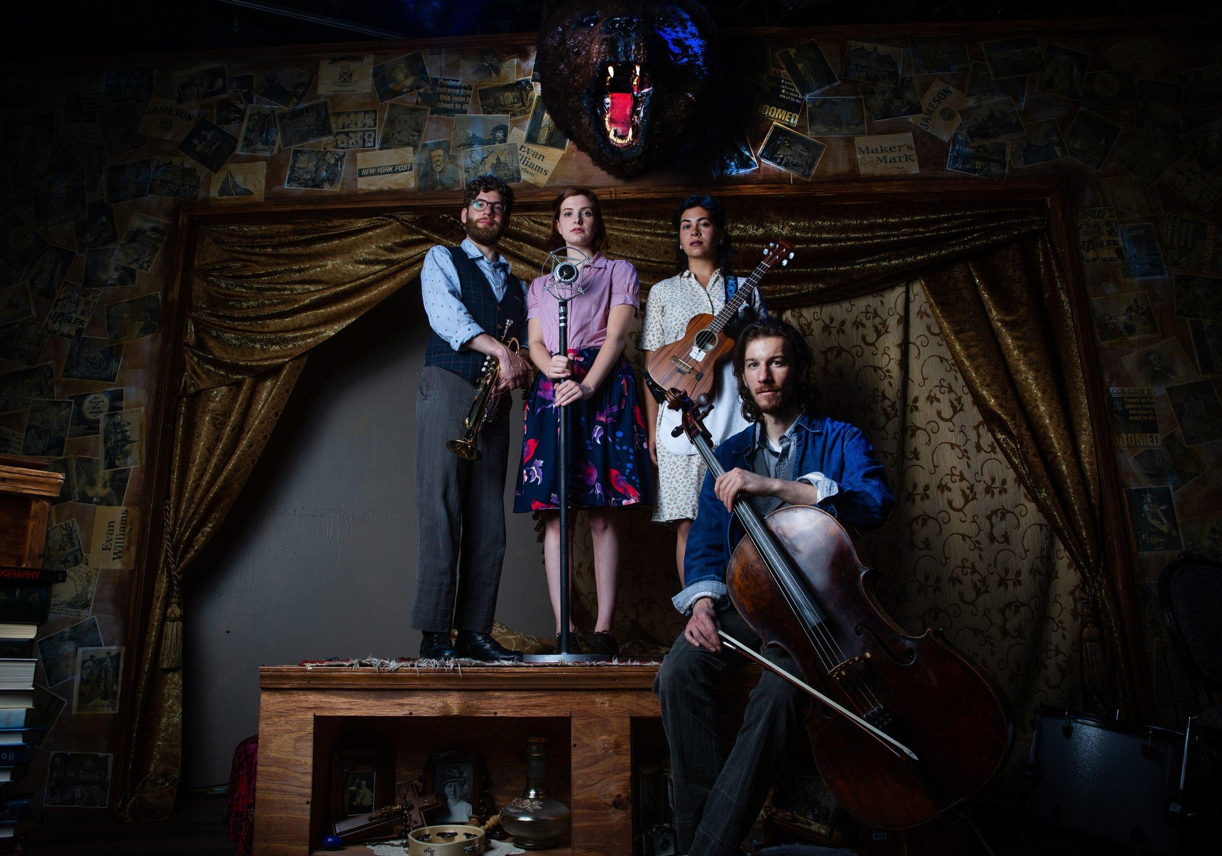 Ghost Quartet   Rose   Black Button Eyes Prod.   d. Ed Rutherford