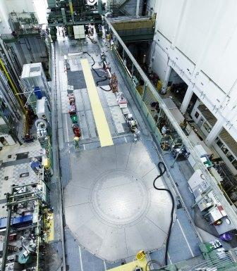 National Research Universal Reactor (NRU) at Chalk River, Ontario, Canada.