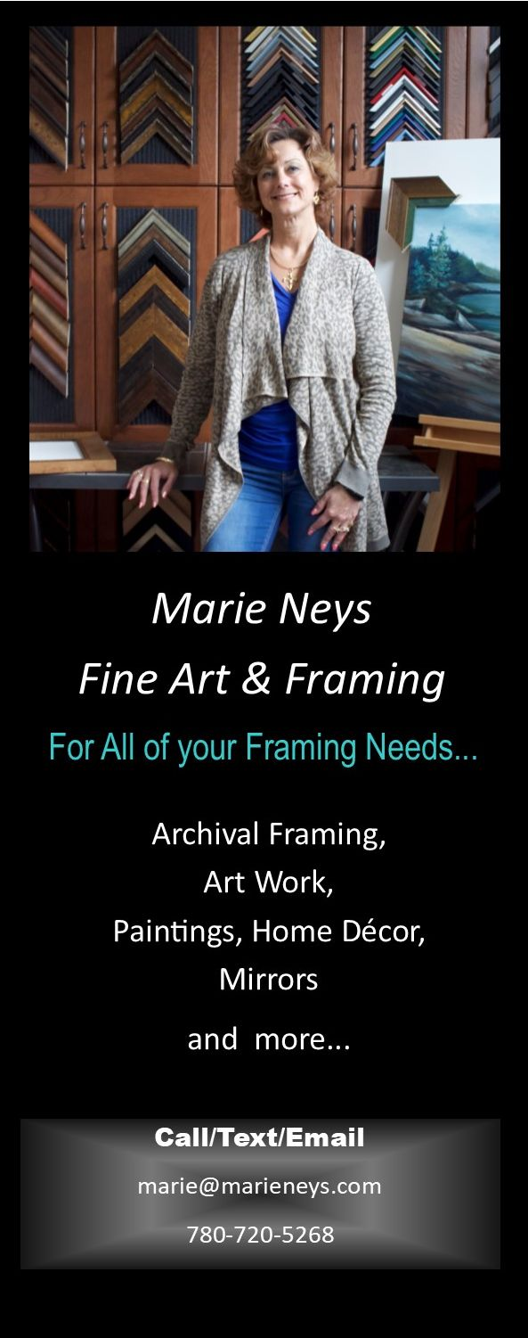 I would love to showcase your works of art! Framing enhances and protects Special Treasures, Home Decor, Family Photos and so much more. I have been blessed to frame Family heirlooms such as a Christening gown worn by 3 generations, to Antique Indigenous Art works. i would be happy to offer you a quote so please call or email me for a consultation. -
