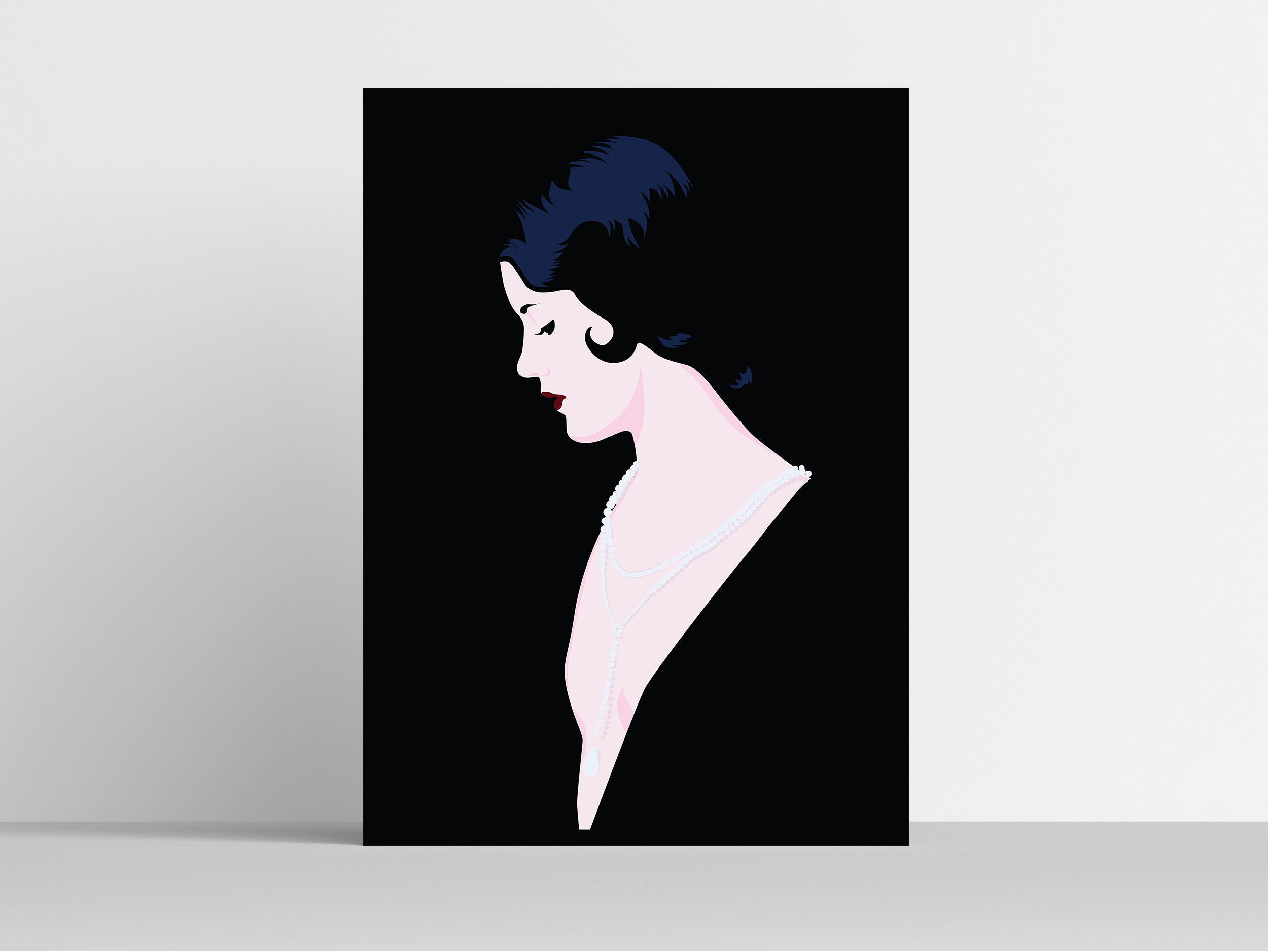 One Poster Mockup - Lady in Pearls.jpg