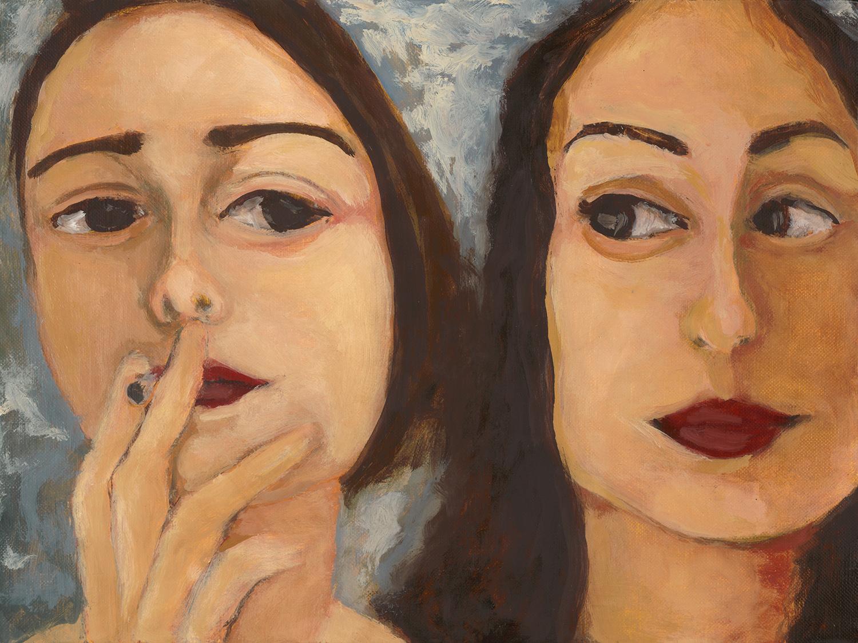 elena & sofia  sold  9 x 12 2014