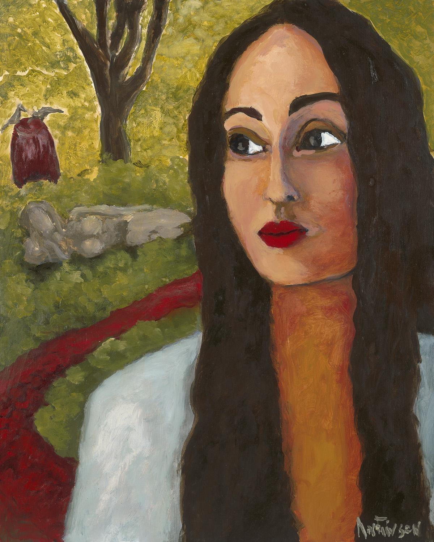 sacred garden  $2800  20 x 16 2015