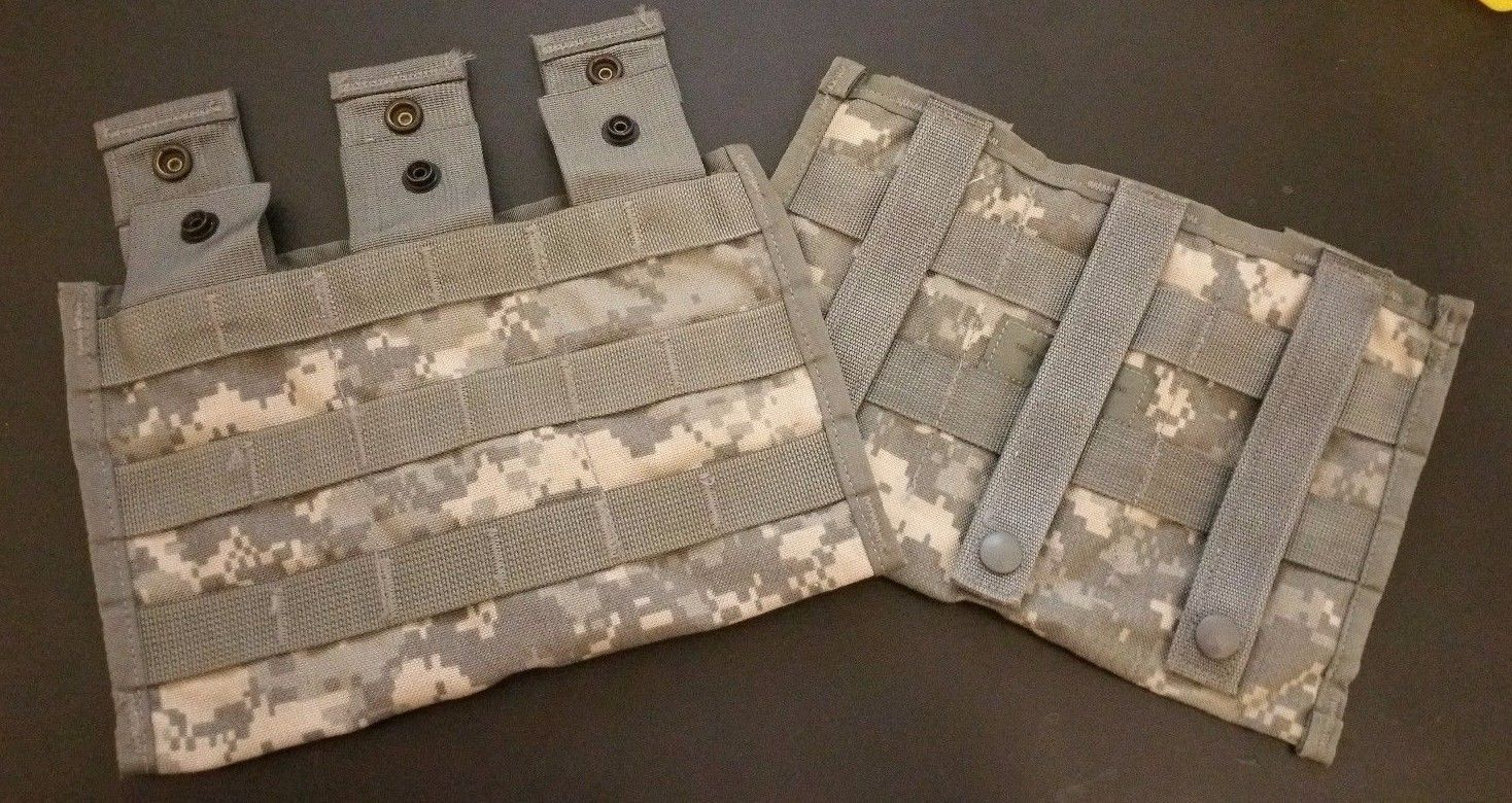 US Military Issue Molle  Rifle Magazine Pouch R.A.C.K 30 Round Magazine Pouch
