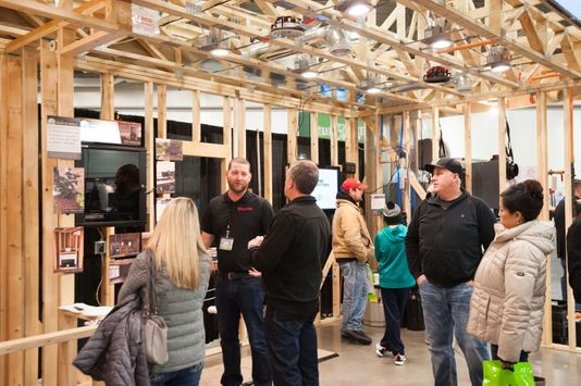 One of our business networking tips is to attend local industry trade shows.