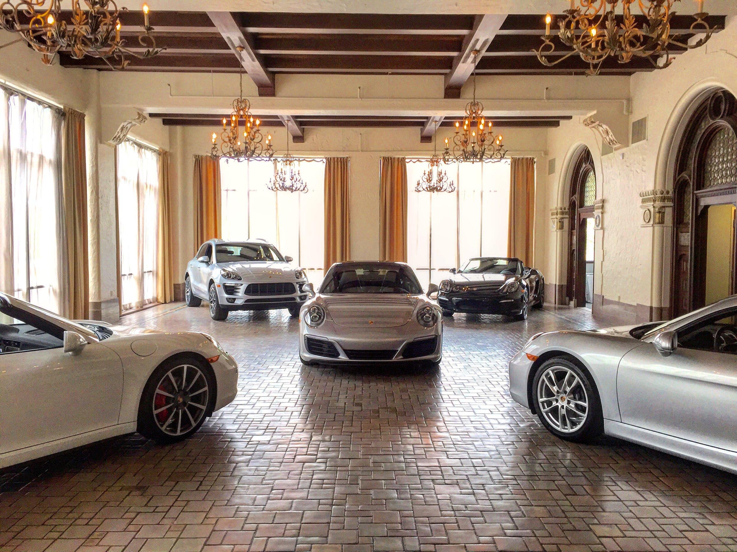 Moffit Porsche Show