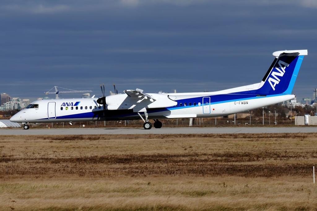MSN 4571 - DHC-8-402 C-FWBN Downsview, ON 29-Nov-2017 Nigel Harris Photo