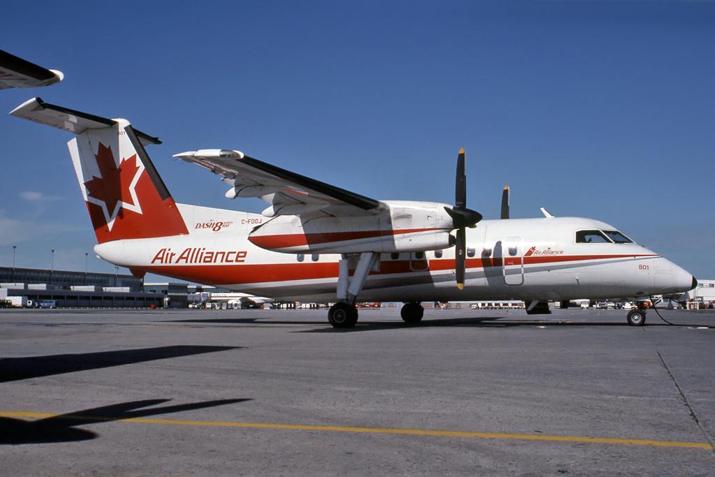 Kenneth I. Swartz/Aeromedia Communications Photo © Montréal-Trudeau, QC 14-Jul-1991
