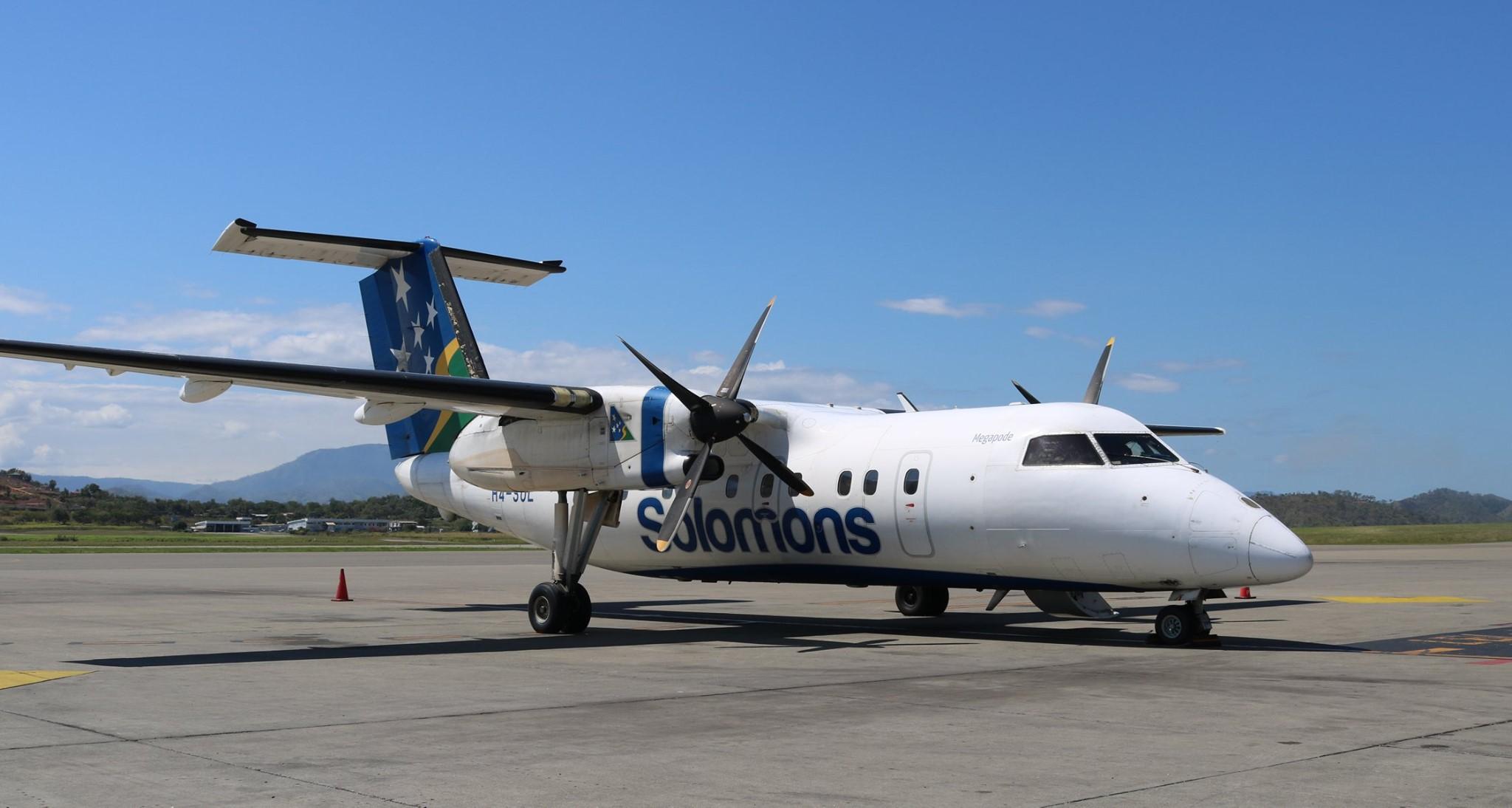 Air Niugini Photo © Port Moresby 30-Jul-2019