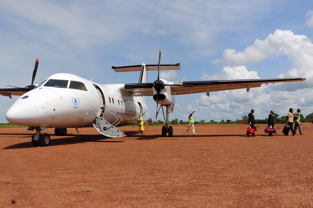 MSN 205 - DHC-8-102 5Y-BXH (ex C-GABI)  ALS Aircraft Leasing Services  UNHAS Photo ©