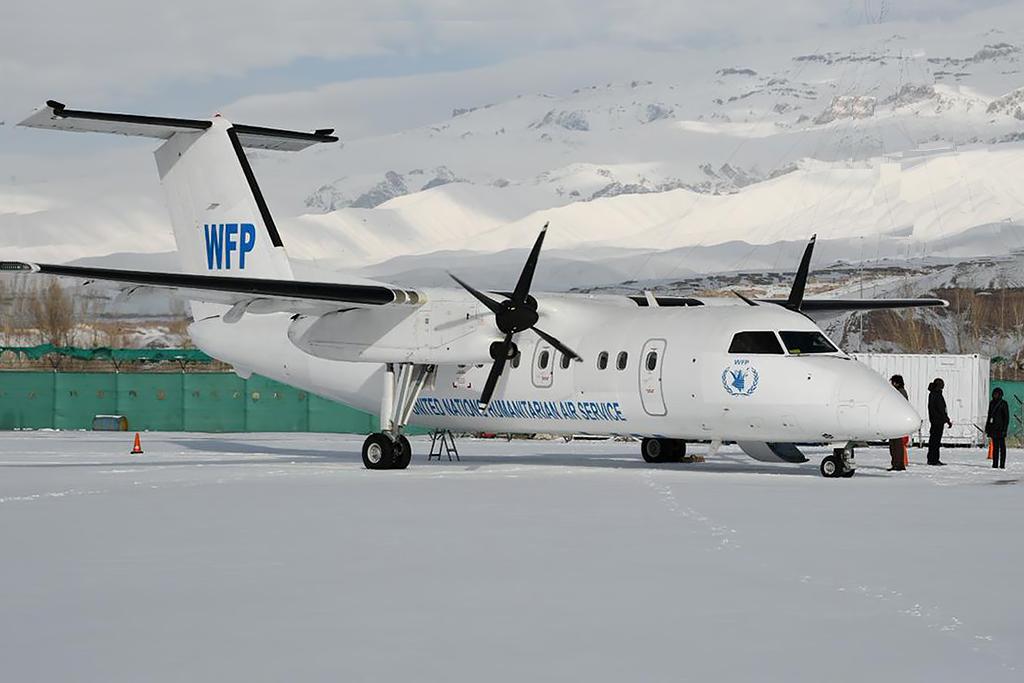 MSN 473 DHC-8-202 5Y-CIL  DAC Aviation  UNHAS Photo © Afghanistan