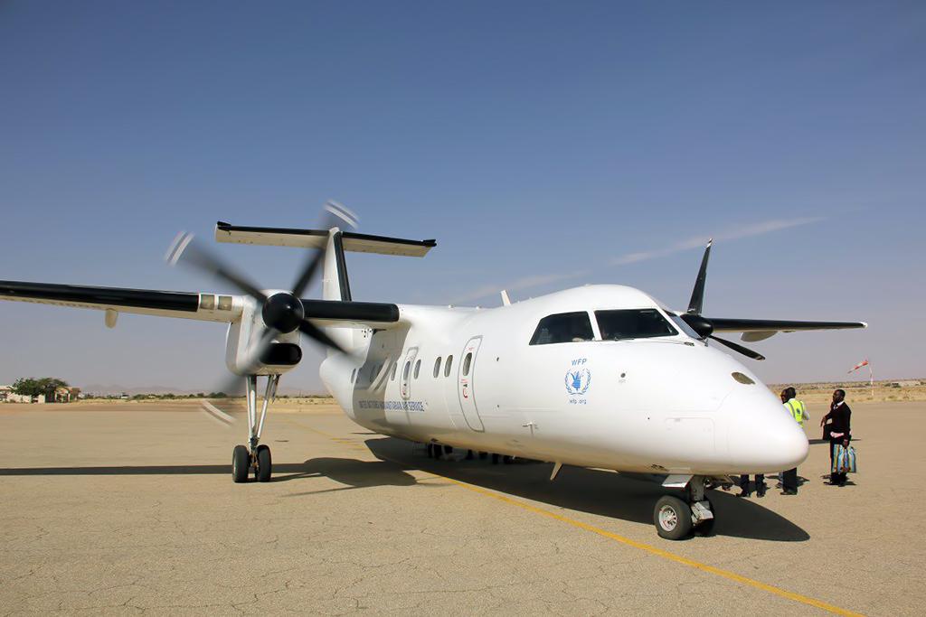 5Y- ?  DHC-8-  UNHAS Photo ©