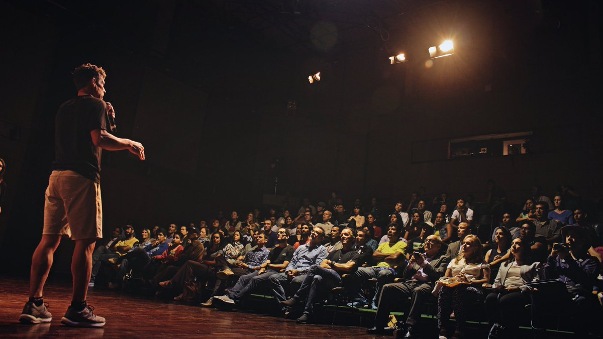 As part of the North Face speaker series, Dean Karnazes delivered a talk to a group of athletes, coaches, administrators, and government officials at the U.S. Embassy in Lima, Peru.