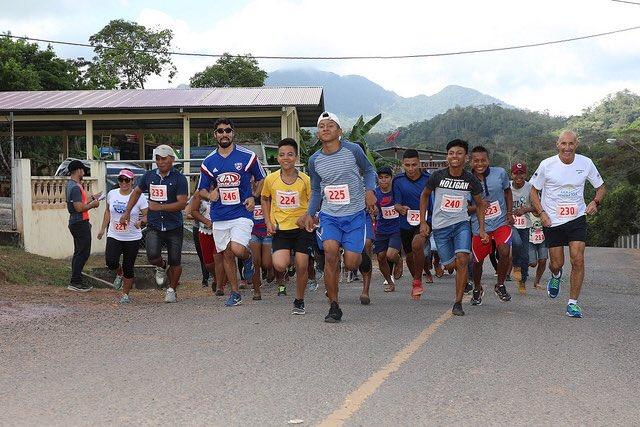3k run in beautiful Panama.