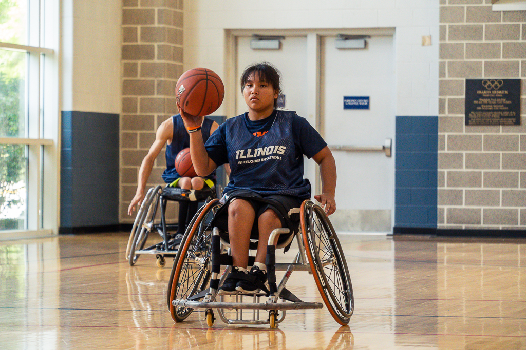 Wheelchair Basketball Camp