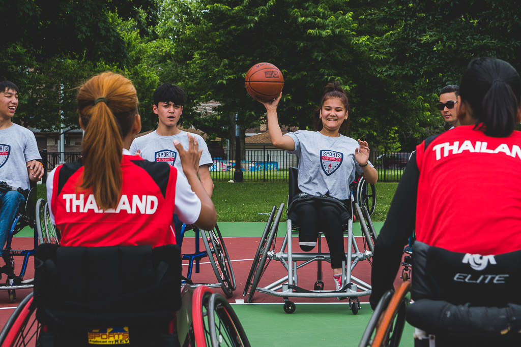 Wheelchair Basketball Youth Camp - Youth Wheelchair Basketball, Disability Rights, and Inclusion: A Sports Visitor Program for Kazakhstan and Thailand