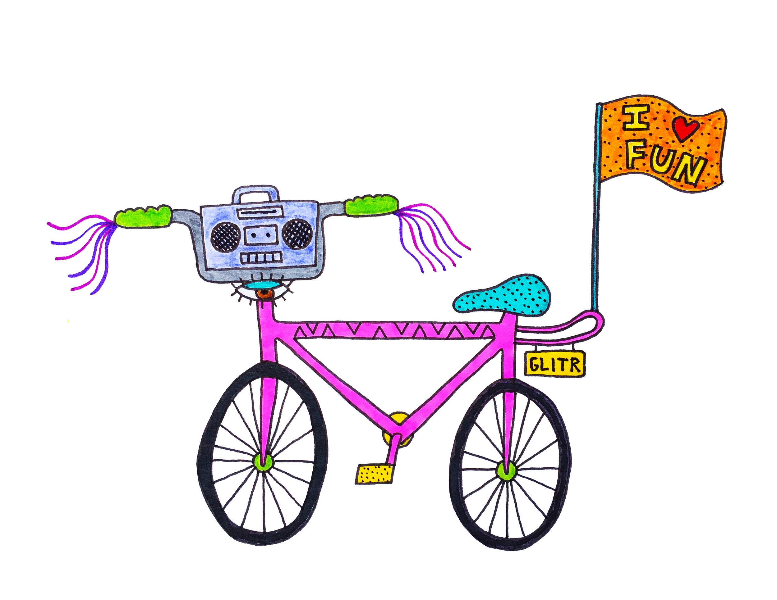 Jesse's bike