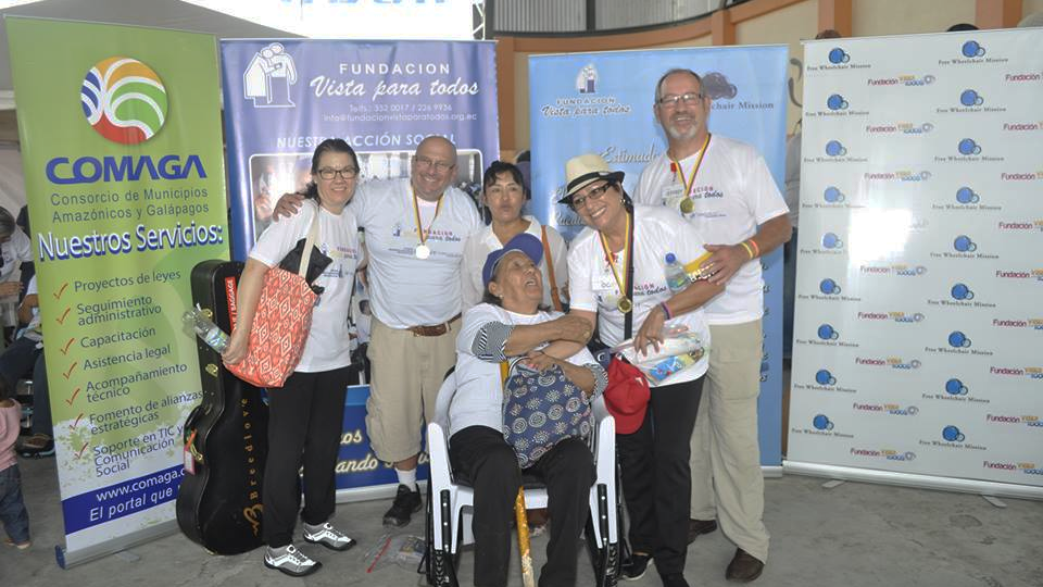 Free Wheelchair Mission - Sharing the love of Christ with the poor throughout the world by providing free wheelchairs. Recipients can find salvation, purpose, education, and employment through the gift of the chair in their lives.