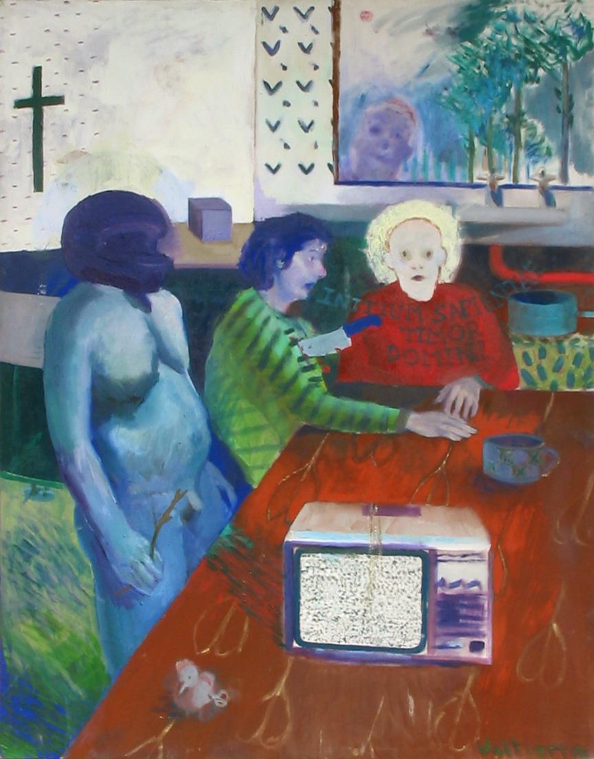 """Untitled""2005   Acrylic on canvas"