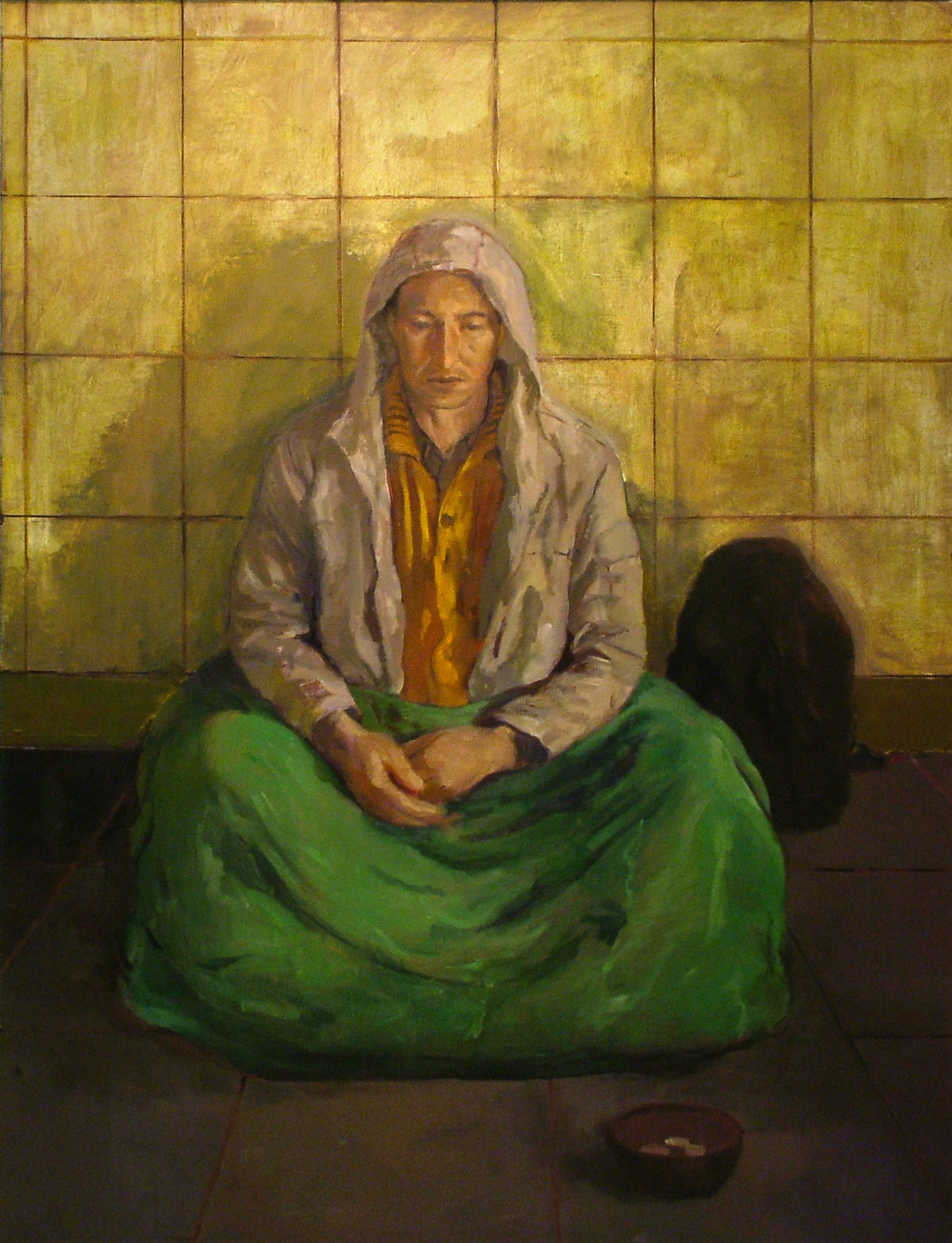 """Homeless""2007   Oil on canvas"